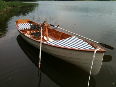 Chester Yawl with FrontRower installed